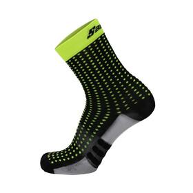 Santini Dryarn Mid Socks Herre nero